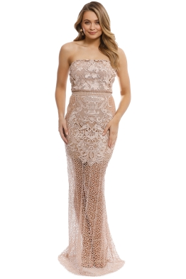 Grace & Hart - Adele Gown - Blush - Front