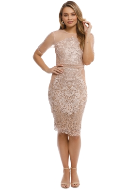 Grace and Hart - Adele Midi - Blush - Front