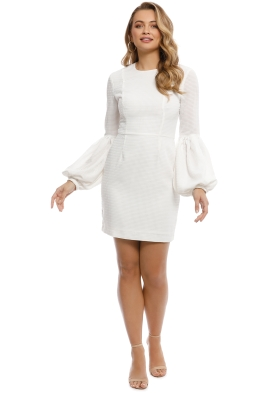 Rebecca Vallance - Ambrosia Mini Dress - White - Front