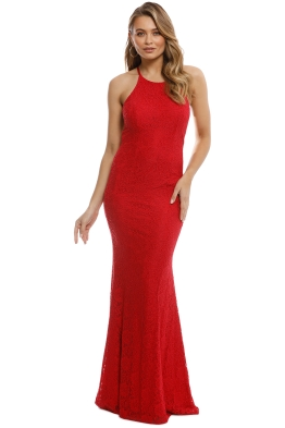 Tania Olsen - Sadie Red Gown - Red - Front