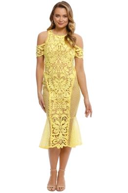 Thurley - Enchanted Garden Midi Dress - Front