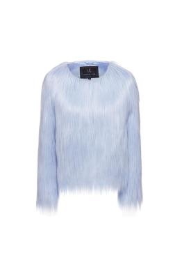 Unreal Fur - Unreal Dream Jacket - Pastel Blue - Front