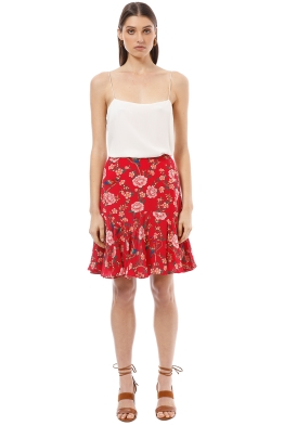 Alannah Hill - Own Wings Skirt - Red - Front