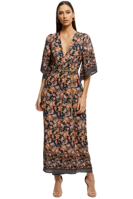 Alexia-Admor-Printed-Border-Wrap-Dress-Navy-Multi-Front