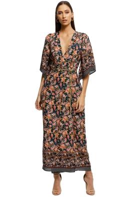 Alexia-Admor-Printed-Border-Wrap-Dress-Navy-Multi-Front