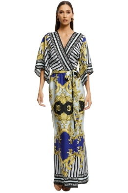 Alexia-Admor-Printed-Kimono-Wrap-Dress-Multi-Front