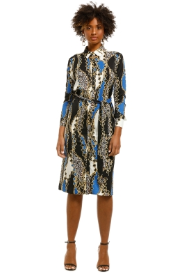 Alexia-Admor-Sofia-Button-Down-Shirt-Dress-Black-Multi-Front