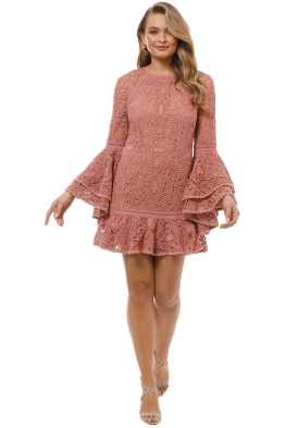 Alexis - Veronique Dress - Pink - Front