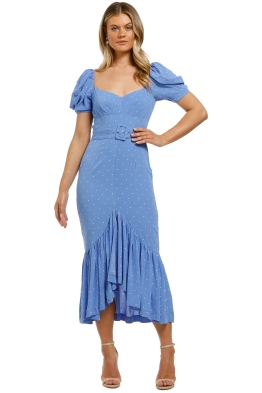 Alice-McCall-Slow-Dreams-Midi-Dress-Blue-Front
