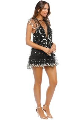 69c68392ef Alice McCall - Kokomo Playsuit - Black - Front