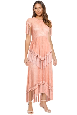 Alice McCall - More Than A Woman Gown - Dusty Rose - Front