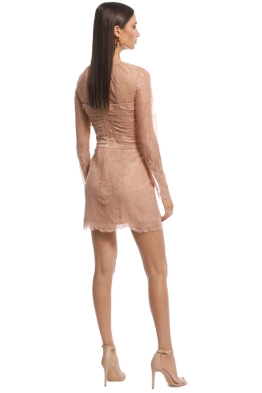 3337d2f1036 Alice McCall - Not Your Girl Dress - Blush - Front