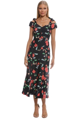 Alice McCall - One Kiss Dress - Ebony Confetti - Front