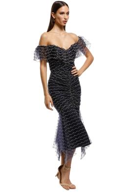 b9ecd4a4b18 Alice McCall - Venus Valentine Midi Dress - Indigo - Front