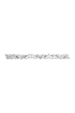 Amber Sceats - Ruby Choker - Silver - Front