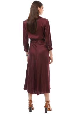 Burgundy Maroon Amp Wine Designer Dress Frental