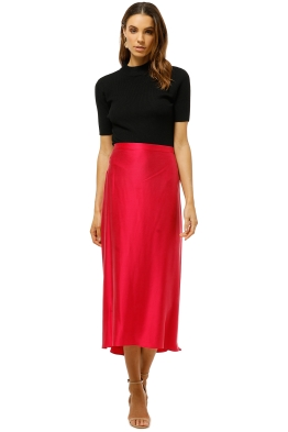 Bec+Bridge-Classic-Full-Circle-Skirt-Hot-Pink-Front