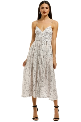 Bec+Bridge-Miss-Frenchie-Midi-Dress-Spot-Print-Front