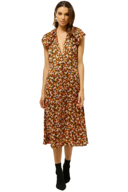 Bec+Bridge-New-Romantics-Midi-Dress-Floral-Front