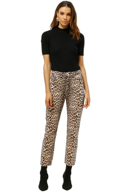 Bec+Bridge-Super-Freak-Pant-Leopard-Print-Front