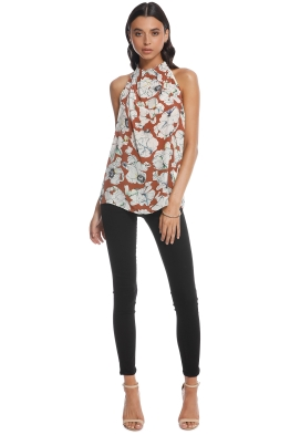 Bianca Spender - Botanical CDC Isabella Top - Front 657e65927
