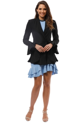 Cameo - Intermission Blazer - Black - Front