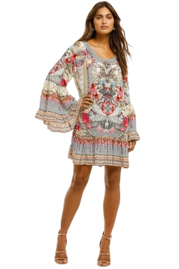 Camilla-A-Line-Frill-Dress-Front
