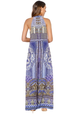 6df3a7db5b Camilla - It Was All A Dream Keyhole Front Jumpsuit - Prints - Front