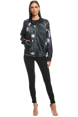 Camilla and Marc - Albertina Jacket - Garden Print - Front