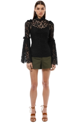 Camilla and Marc - Clemence Top - Black - Front