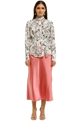 CMEO-Collective-Time-Flew-Skirt-Hibiscus-Front