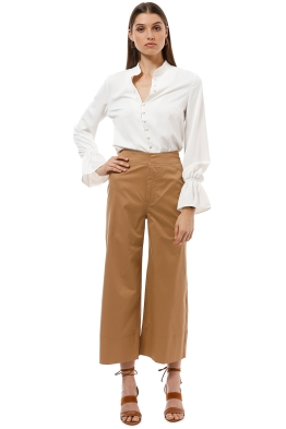 CMEO Collective - Adept Pants - Tan - Front
