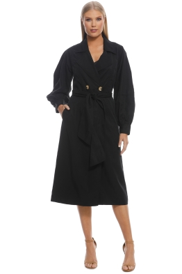 CMEO Collective - Affectation Trench - Black - Front