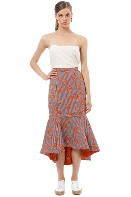 CMEO Collective - Fixation Skirt - Floral - Front