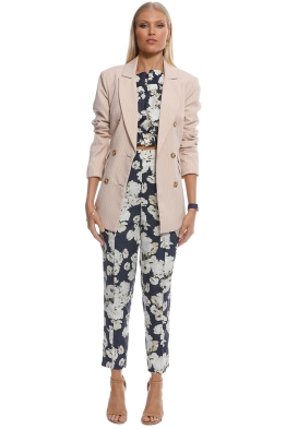 CMEO Collective - Go From Here Blazer - Nude - Front
