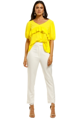 Coop-by-Trelise-Cooper-Frill-Life-Top-Yellow-Front