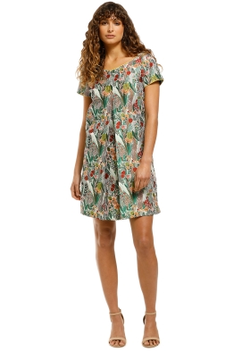 Cooper-By-Trelise-Cooper-Peony-For-Your-Thoughts-Dress-Green-Multi-Front