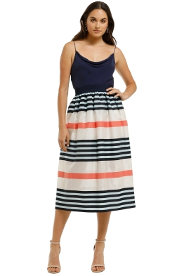 Cooper-By-Trelise-Cooper-Skirt-A-Holic-Skirt-Multi-Stripe-Front