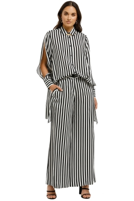 Cooper-By-Trelise-Cooper-Split-Tease-Shirt-Black-White-Stripe-Front