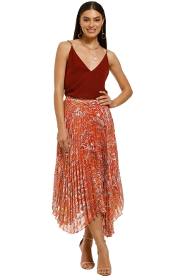 Cooper-St-Stevie-Skirt-Paisley-Print-Front