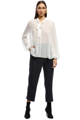 Cooper St - Love Sprung Top - White - Front