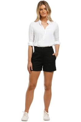 Country-Road-Tailored-Short-Black-Front