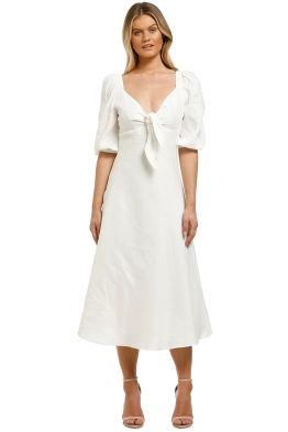 Country-Road-Tie-Front-Dress-Antique-White-Front