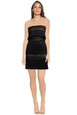 Eliya - Divinity Dress - Black Nude - Front