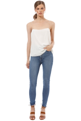 Elka Collective - Lucca Cami - White - Front