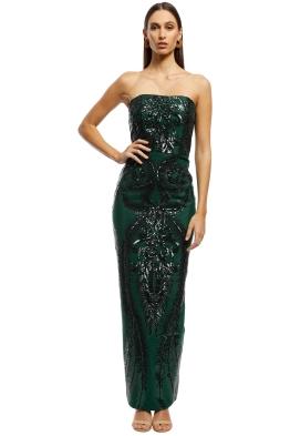 Elle Zeitoune - Austin Forest Green - Emerald - Front