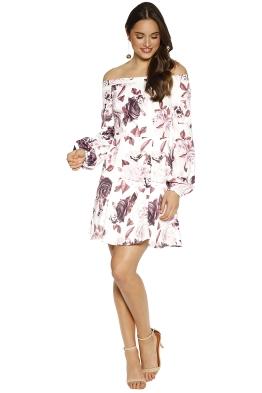 Elle Zeitoune - Deanne Dress - White Floral - Front