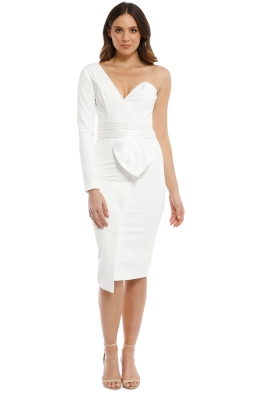 Elle Zeitoune - Dolores Dress - White - Front