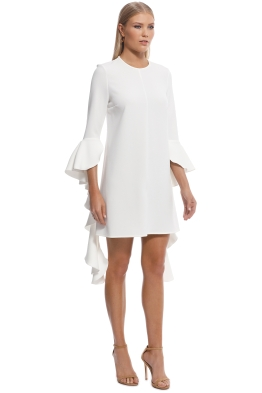 9bb7048813 Ellery - Kilkenny Frill Sleeve Mini Dress - Ivory - Front