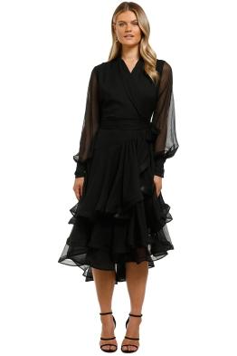 Elliatt-Cuba-Dress-Black-Front